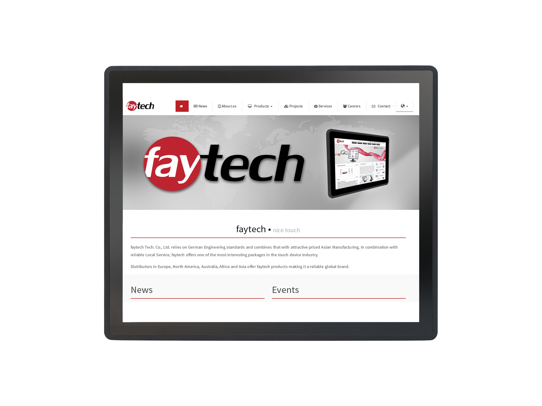 17'' Embedded Touch PC (ARM V40)