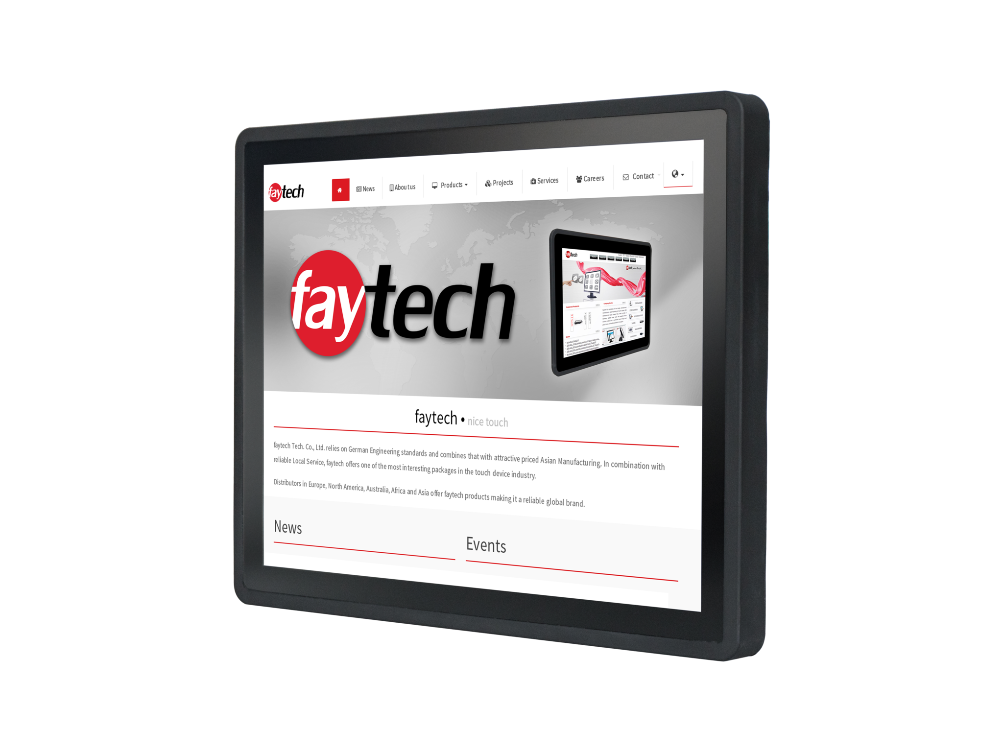 15 inch Embedded touch computer