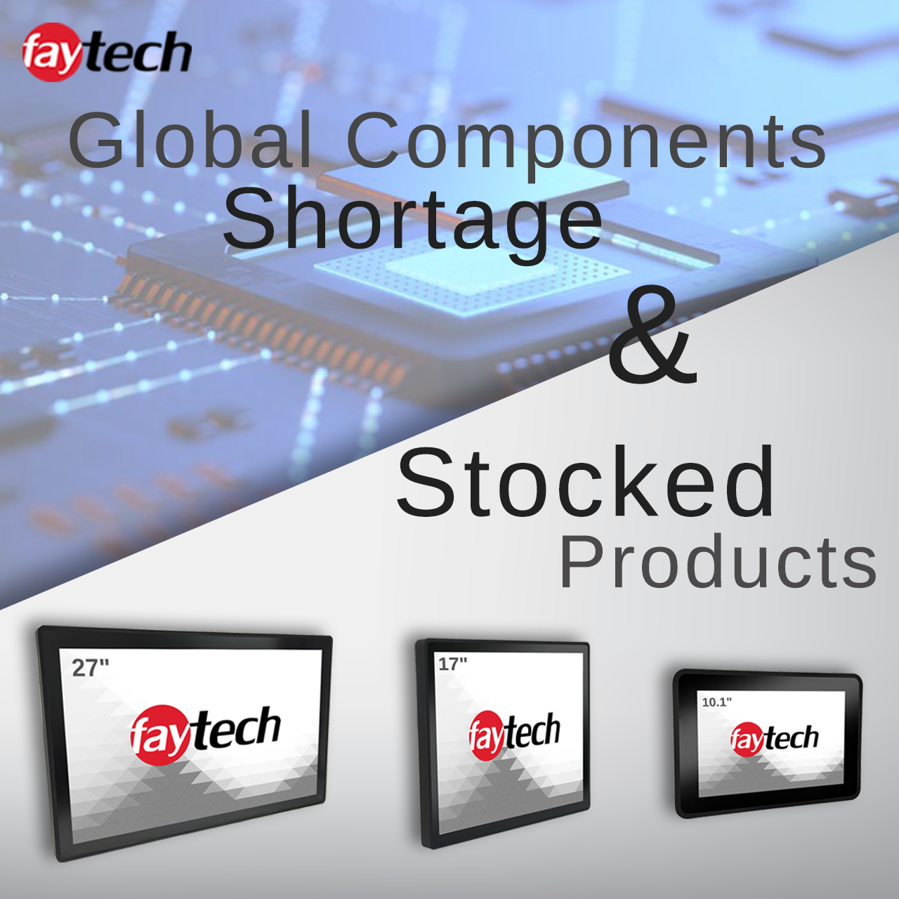 Global Components Shortage & Stocked Products