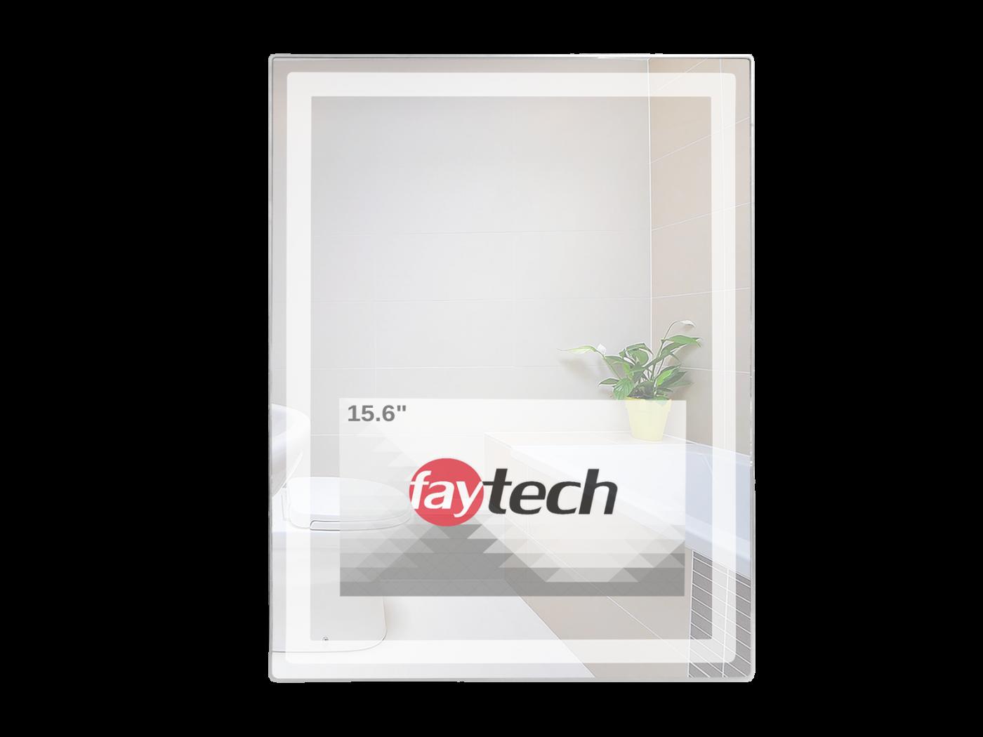 """15,6"""" Interactive Bathroom Mirror"""