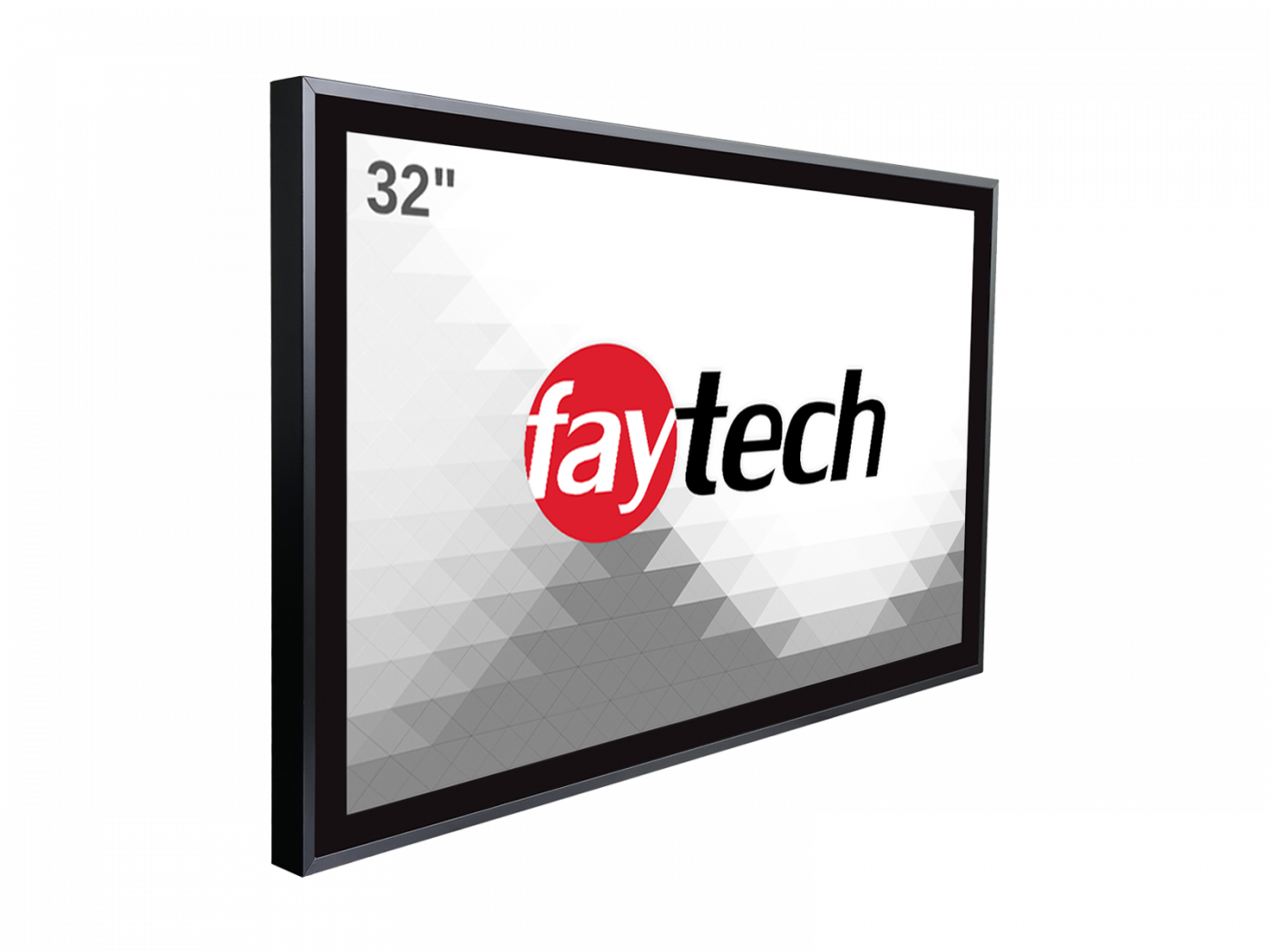 32 inch  capacitive touch monitor (OB) FT32TMBCAPOB | faytech Nederland
