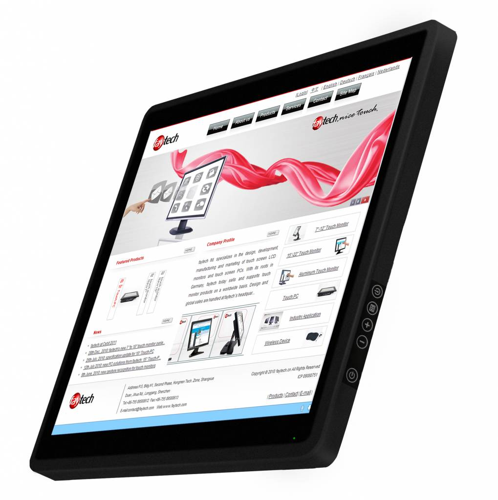 21,5 inch capacitive touch computer FT215J1900W464GCAP   faytech Nederland