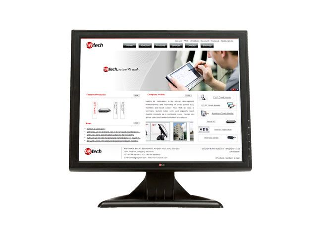 15 inch resistive touch monitor FT15TMB | faytech Nederland