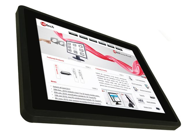Resistive and capacitive Touch Monitors from 7 inch until 84 inch