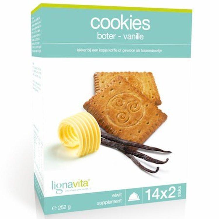 Lignavita Lignavita Cookies Boter/Vanille