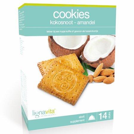 Lignavita Lignavita Cookies Kokosnoot/Amandel