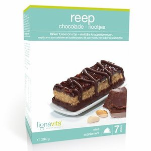 Lignavita Lignavita Reep Chocolade Nootjes