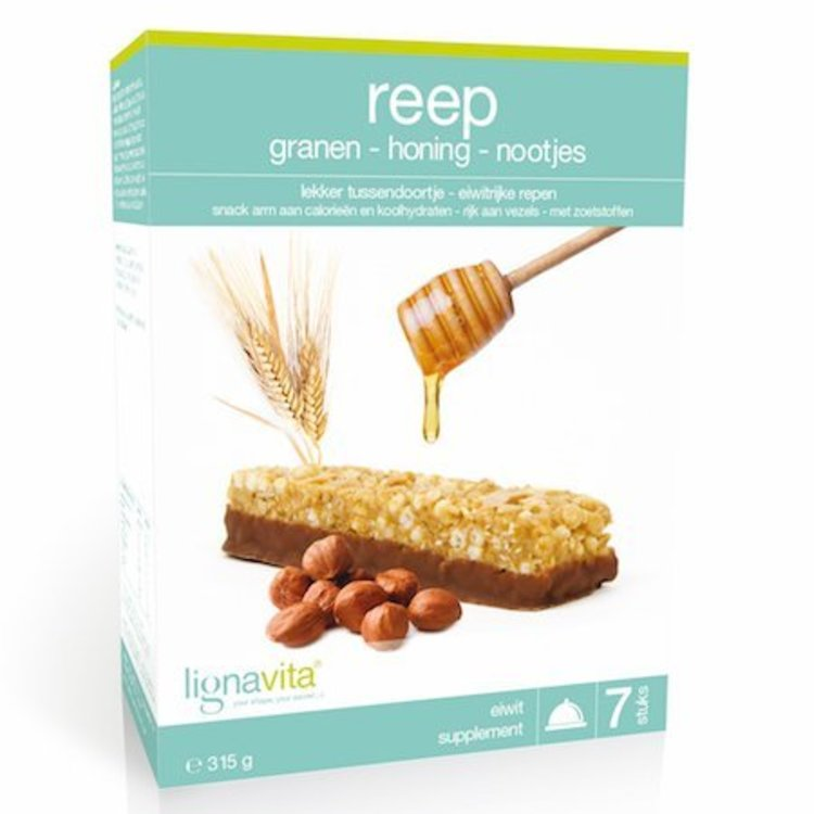 Lignavita Lignavita Reep met Granen Honing & Nootjes