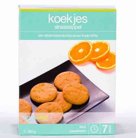 Lignavita Lignavita Koekjes Sinaasappel