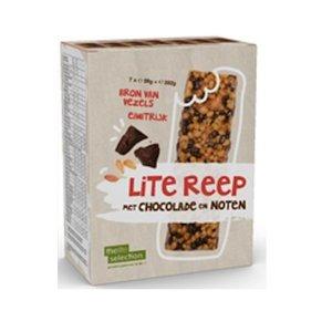 Lignavita Litselection maaltijdreep chocolade en noten