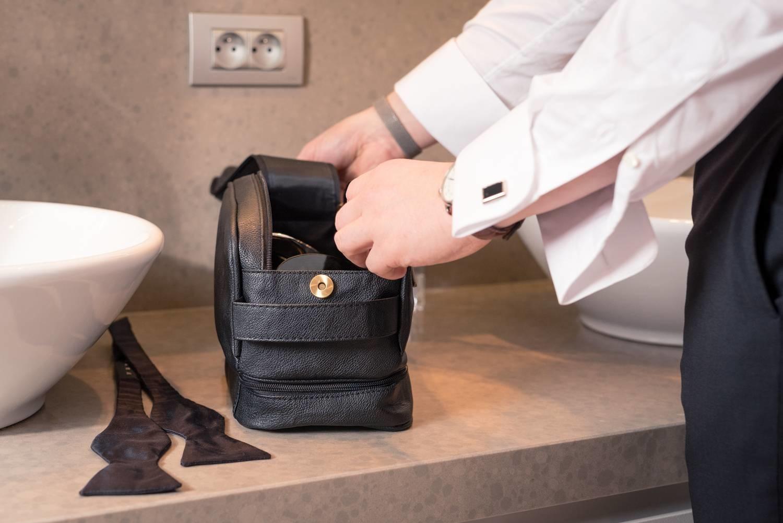 MEN3 MEN3 Luxurious Experience Toiletry Bag (gevuld)