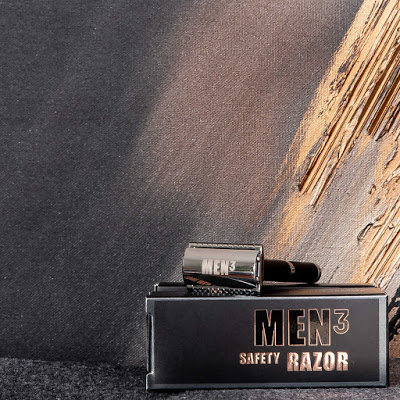 MEN3 MEN³ Safety Razor