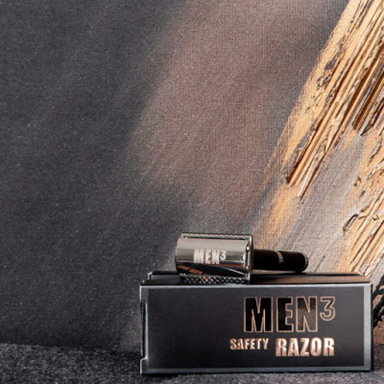 MEN3 MEN³ Safety Razor