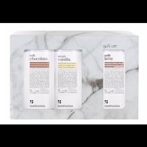 Rainpharma Rainshake Promokit Milkc Chocolate-Simply Vanilla-Caffé latte