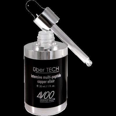 4VOO Mannenverzorging Uber TECH Intensive Multi-Peptide Copper Elixir
