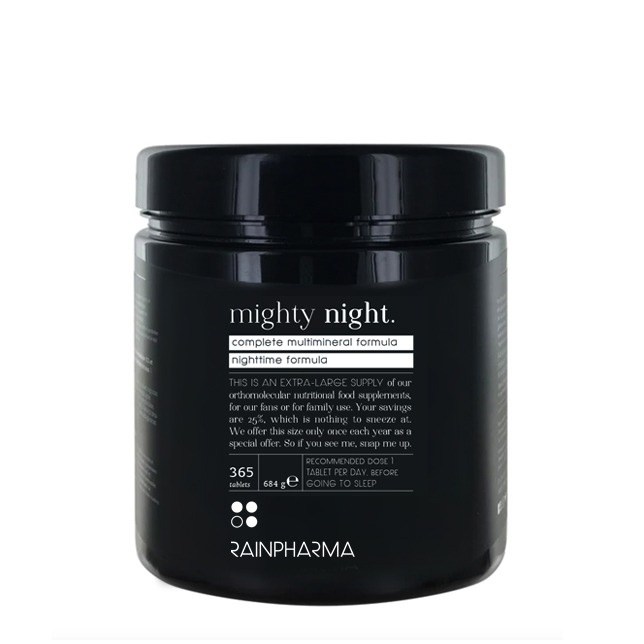 Rainpharma Rainpharma Mighty Night 365 tabs