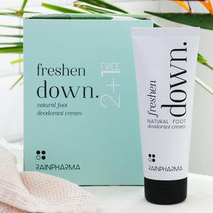 Rainpharma RainPharma Freshen Down Foot Deodorant 2+1 gratis