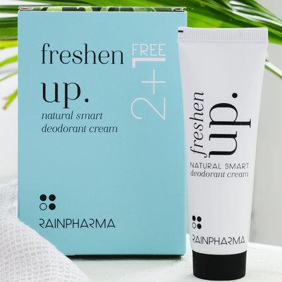 RainPharma Rainpharma Deodorant Freshen Up 2+1 gratis