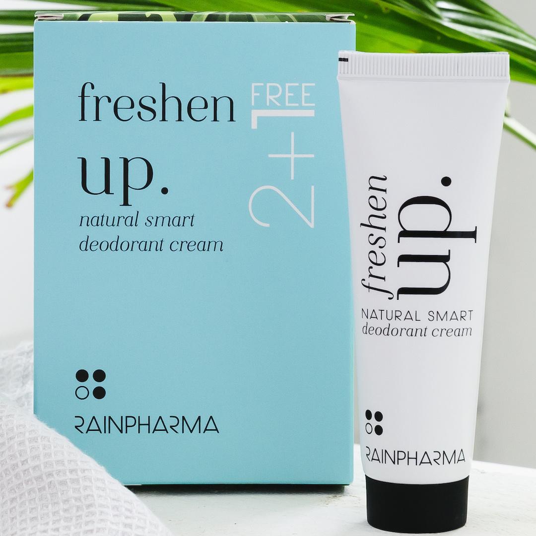 Rainpharma Rainpharma Rainpharma Deodorant Freshen Up2+1 gratis