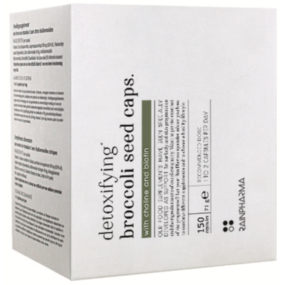 RainPharma Detoxifying Broccoli Seed Caps