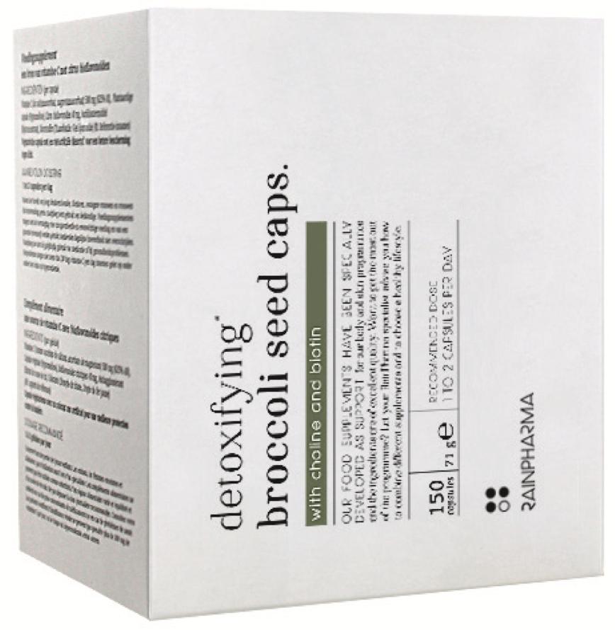 RainPharma RainPharma Detoxifying Broccoli Seed Caps
