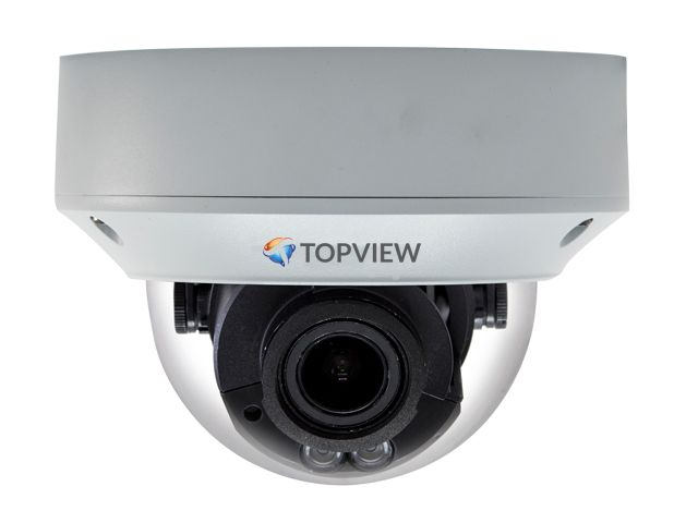 Topview Topview 130212   IP dome camera met motorized lens