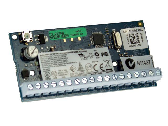 DSC DSC HSM2204 Bedrade uitgangsmodule hoog vermogen voor 4 uitgangen
