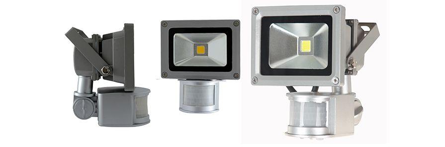 LED projector Floodlight 10W met sensor