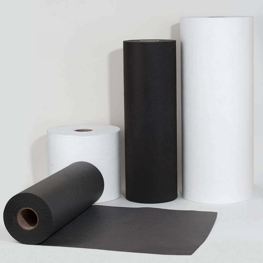 PP-Spinnvliesstoff 80 g/m², Grau, Breite 80 cm, 250 m