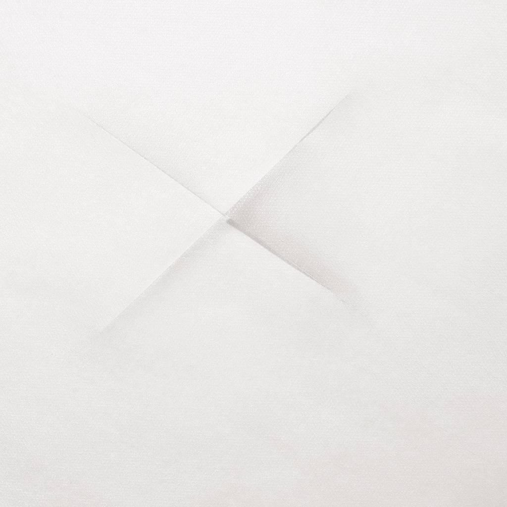 Einweg-Auflagen für Kopfstützen PP-Spinnvlies 40 g/m², Weiß, mit X-Einschnitt, 100 Stk.