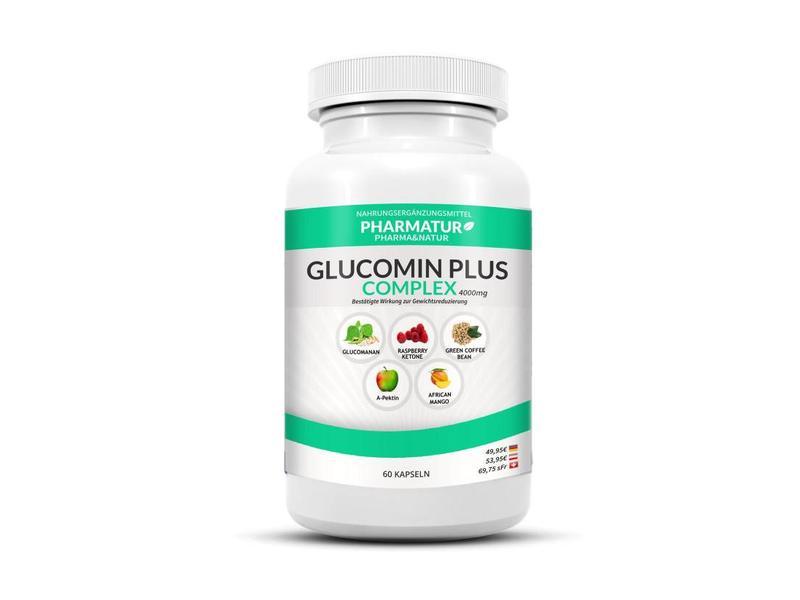 Pharmatur Glucomin Plus 1 Dose für 1 Monat