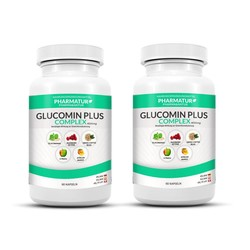 Set de 2 envases de Glucomin Plus