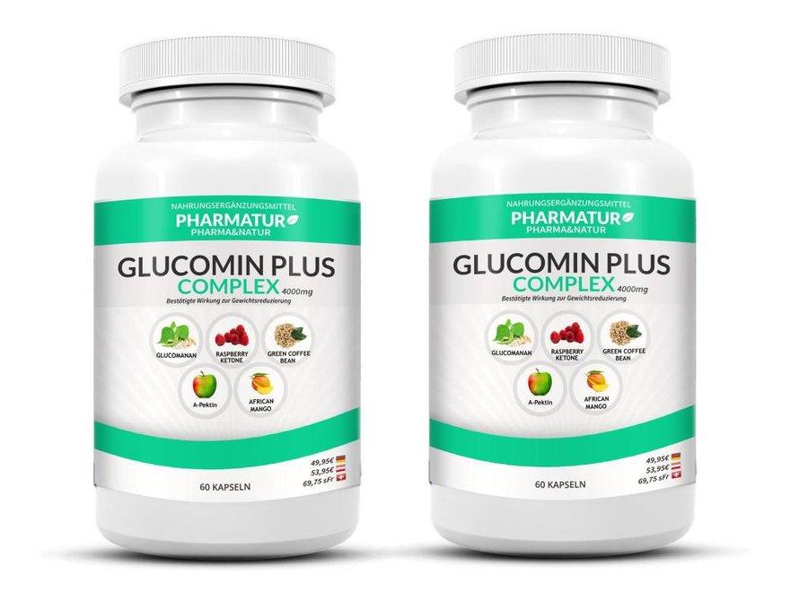 Pharmatur Glucomin Plus Lot de 2 flacons
