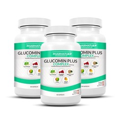 Glucomin Plus 3+1 Set (4 Dosen)