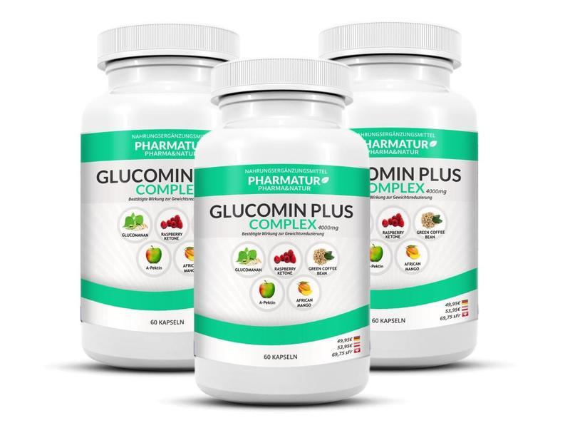 Pharmatur Glucomin Plus 3+1 Set (4 Dosen)