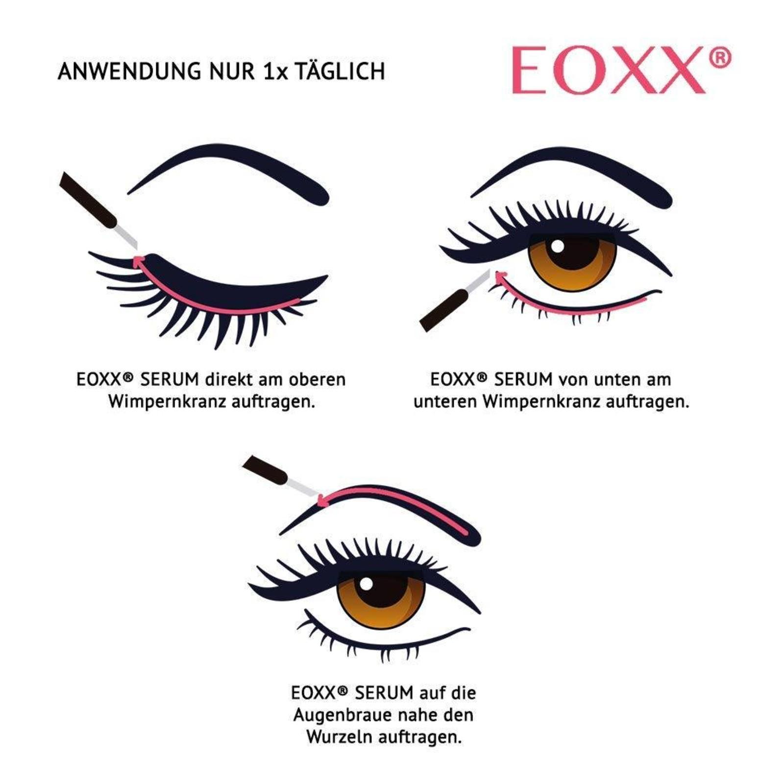 eoxx  EOXX SERUM Wimpernserum & Augenbrauenserum für Wachstum & lange Wimpern 1 x 3 ml