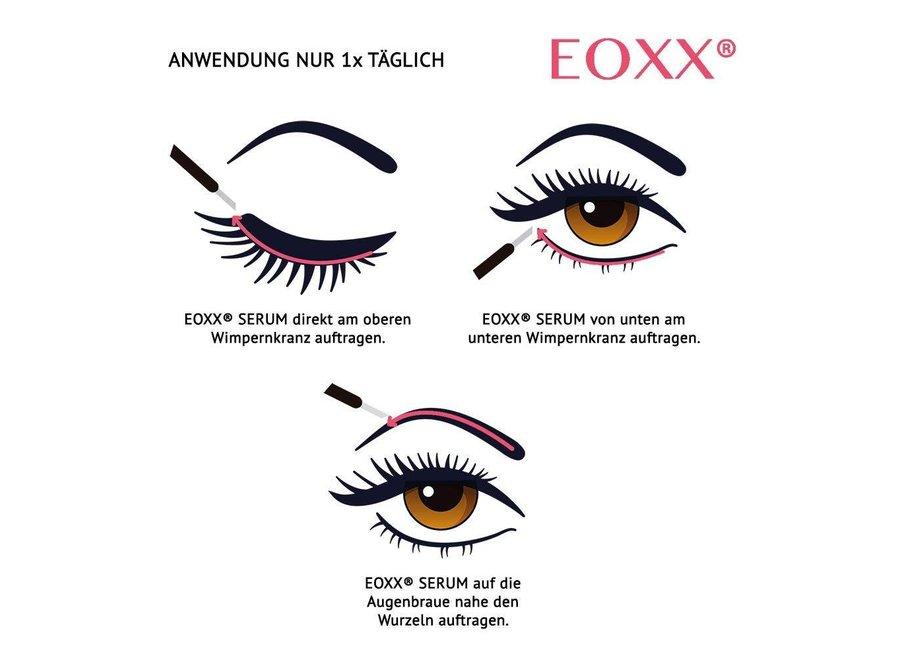 EOXX SERUM Sérum pour cils et sourcils