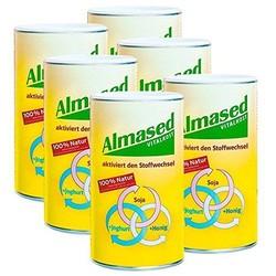 6x Almased Vitalkost, Pulver, 500 g + 2x Glucomin
