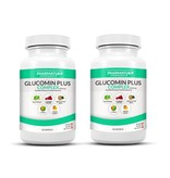 Almased 6x Almased Vitalkost, Pulver, 500 g + 2x Glucomin
