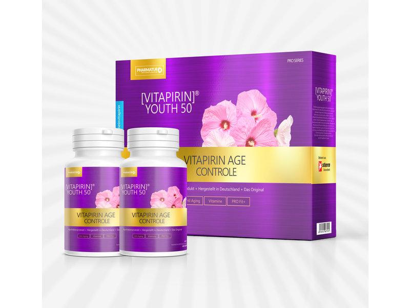 Pharmatur Vitapirin® Youth50 - Anti Aging PRO Vitamin Formel 1 Monat