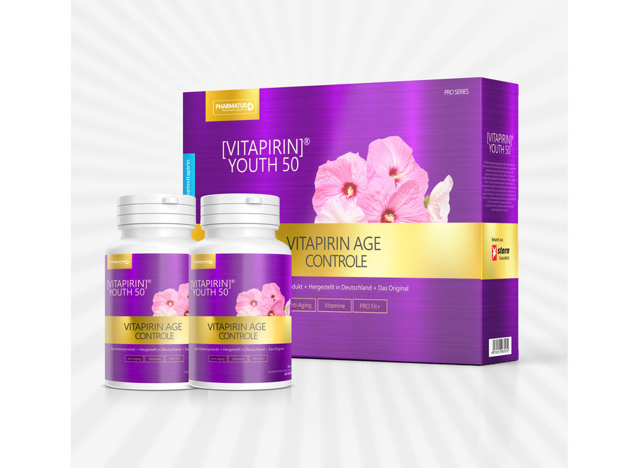 Vitapirin® Youth50 - Anti Aging PRO Vitamin Formel 1 Monat