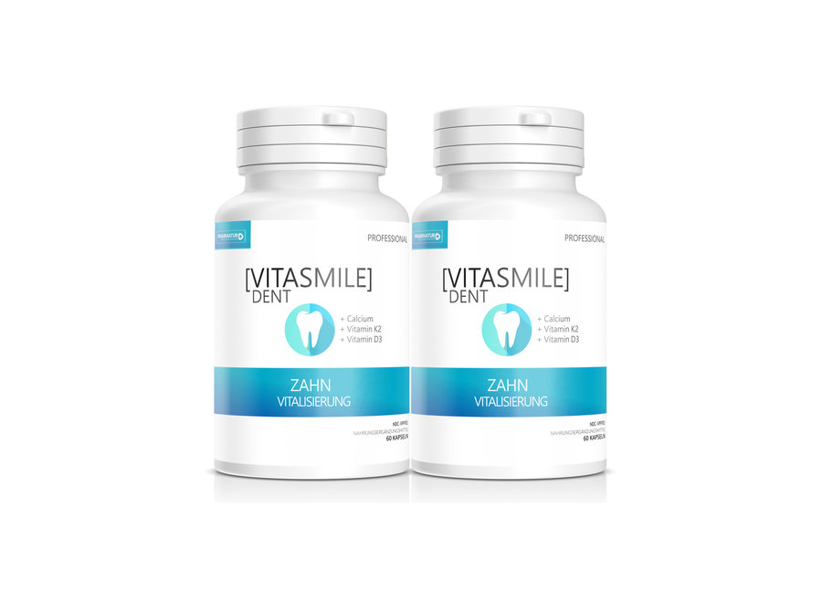Vitasmile Dent - Il complesso vitaminico e minerale per un sorriso radioso