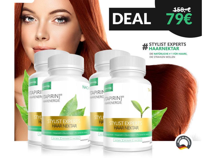 Vitapirin HaarEnergie - Stylist Experts 45+ Taage. Die #1 Vitaminkur für die Haare