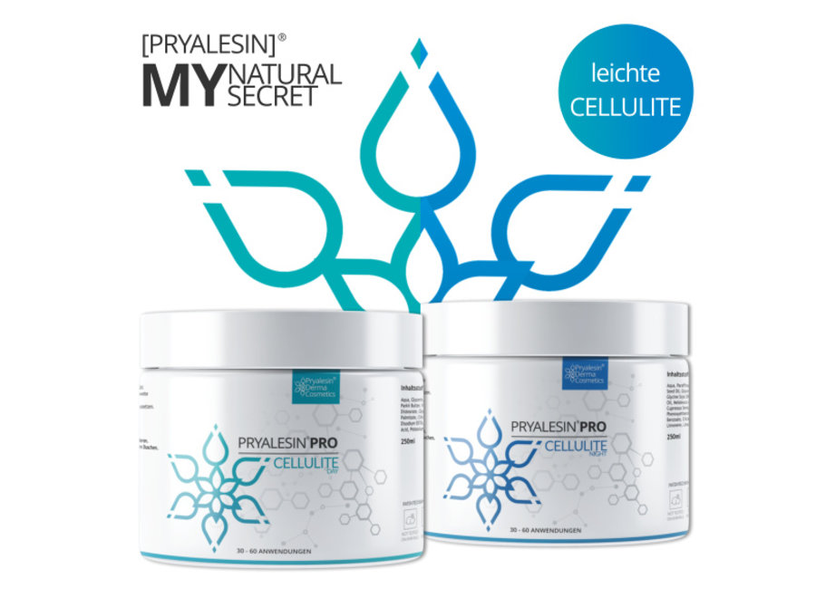 MyNaturalSecret - Cellulite defense kit per 1 mese per cellulite leggera