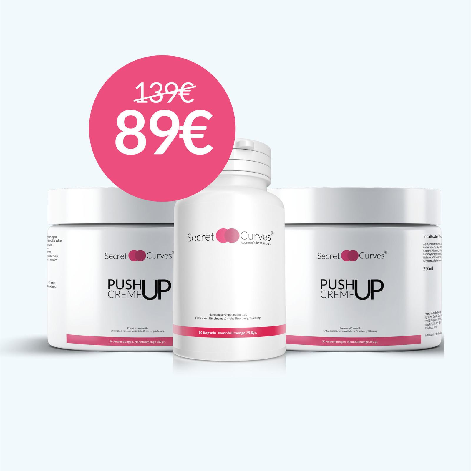 Secret Curves ¡NUEVO! Secret Curves PushUp Cream Pro.