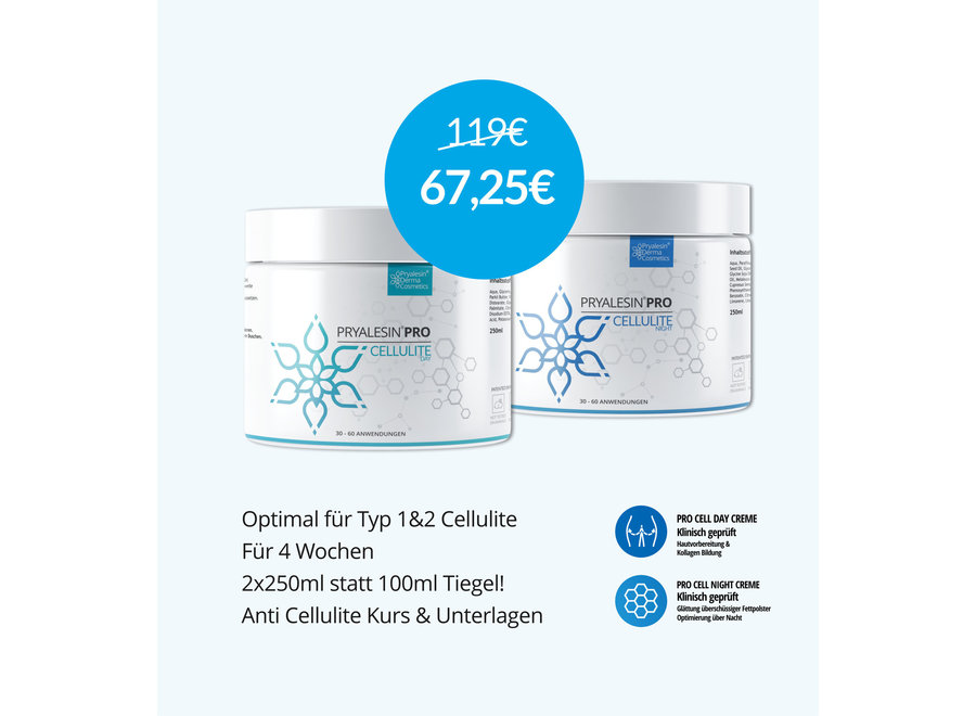 MyNaturalSecret – Combo Set for 2 months including free cream for moderate cellulite