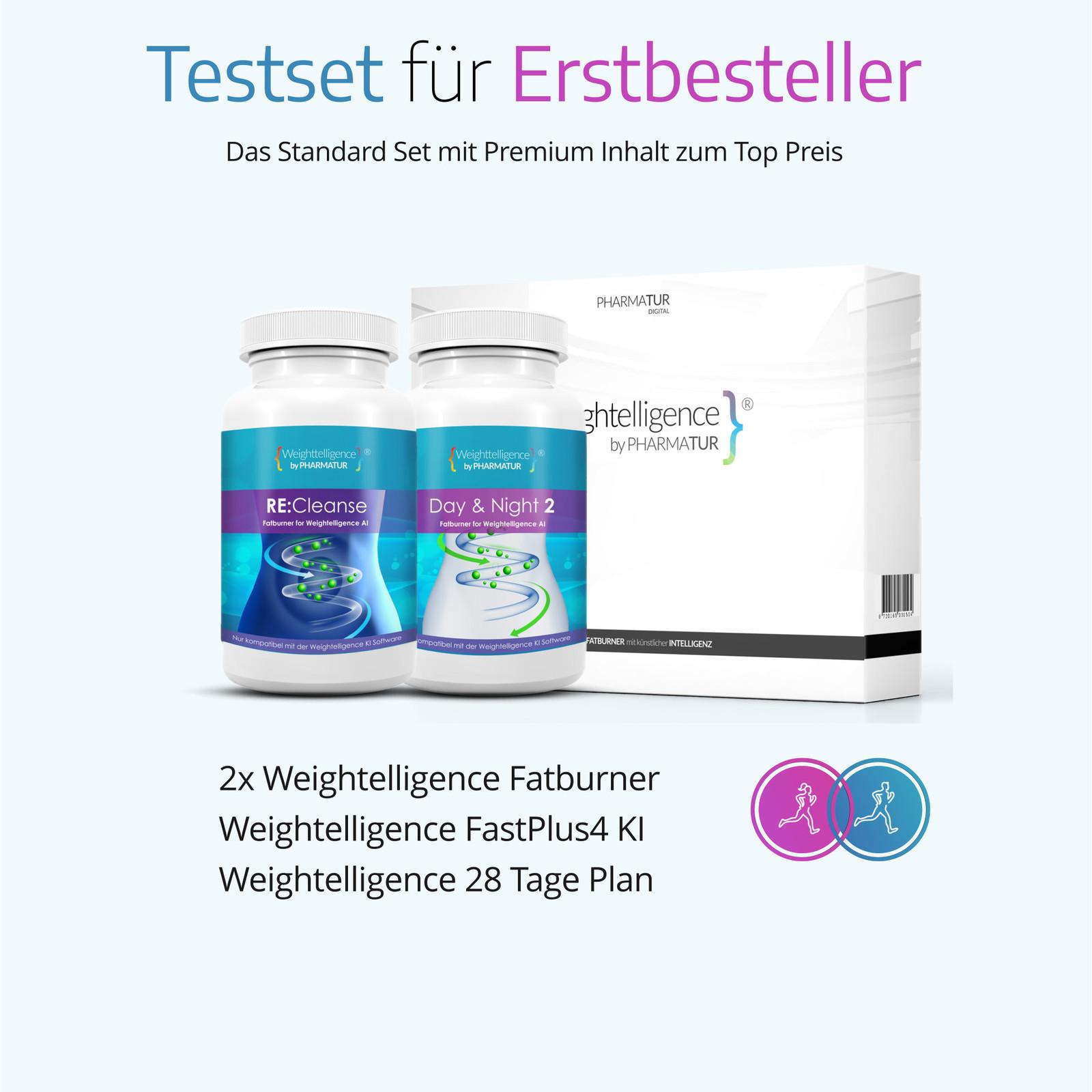 Weightelligence Weightelligence® Start 1 Monat (Inklusive Day&Night + Re:Cleanse & Fatburn KI)