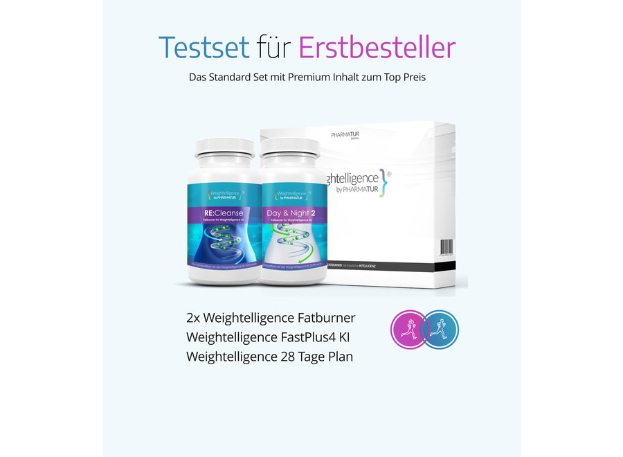 Weightelligence® Core Set 1 month (Including 2x WT Fatburner & Fatburn AI)