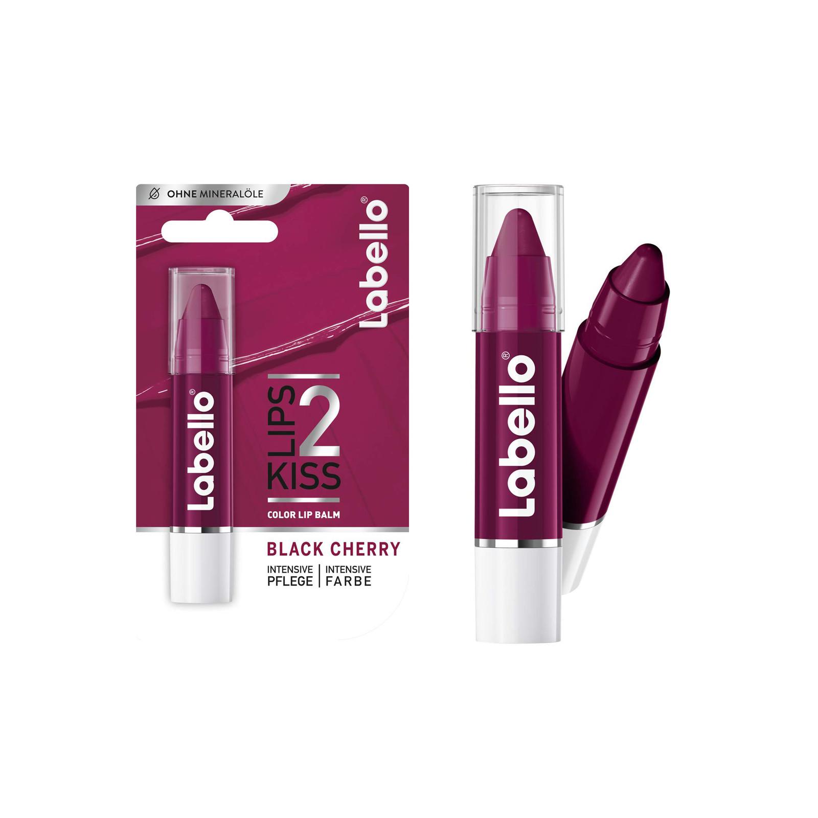 Labello Labello + Lipstick + Black Cherry