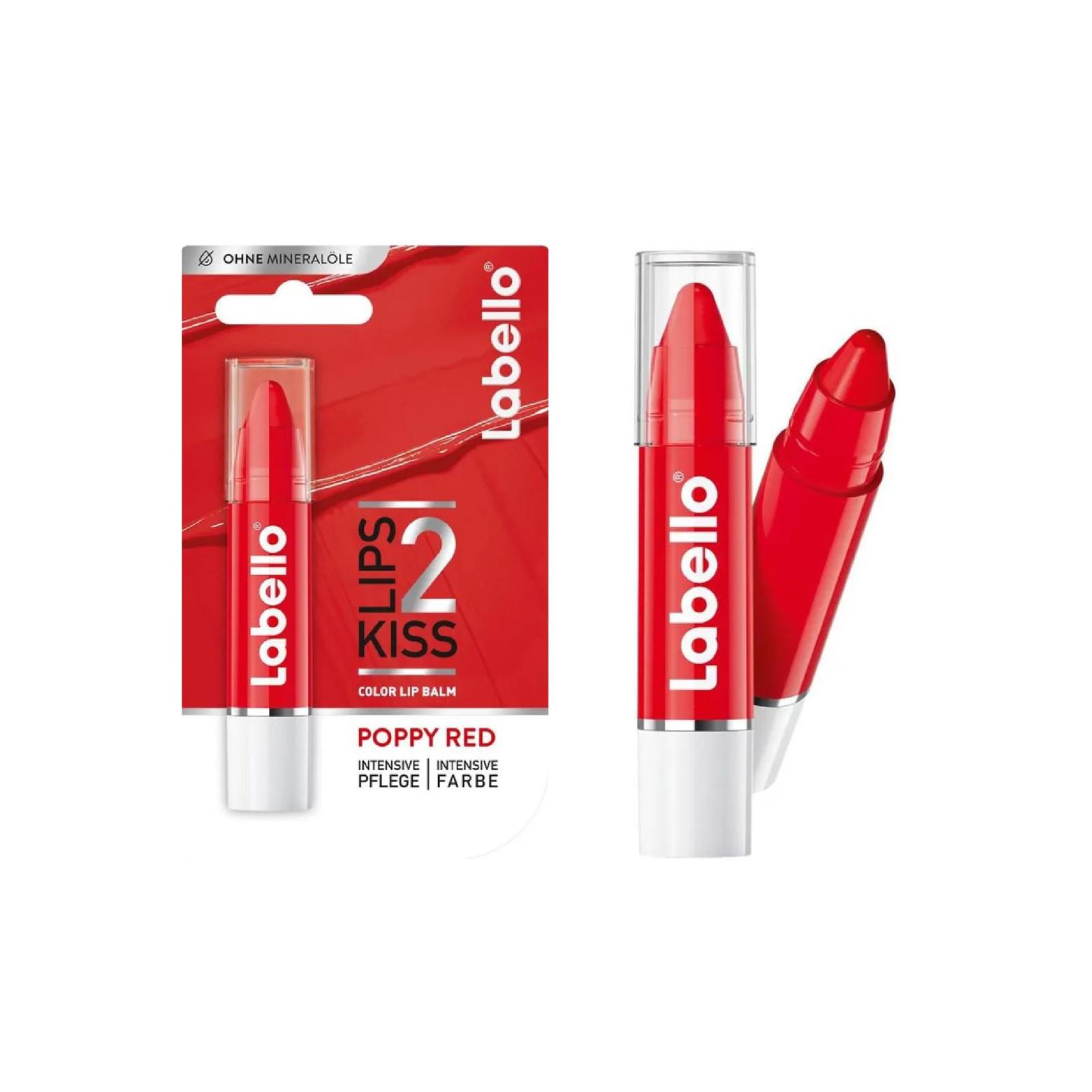 Labello Labello + Lipstick + Poppy Red